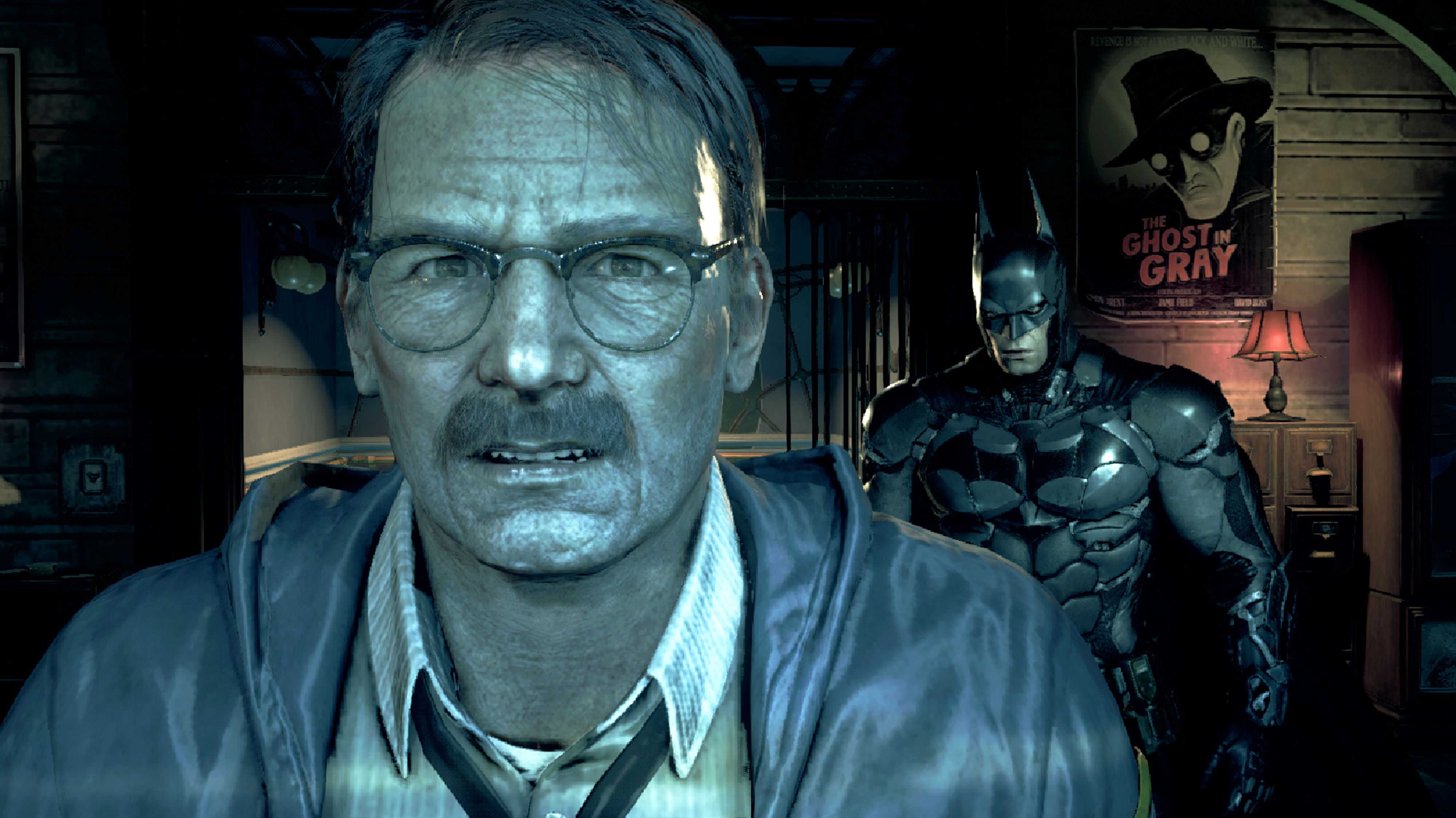 Batman Arkham Knight Letting James Gordon In On The Fact That