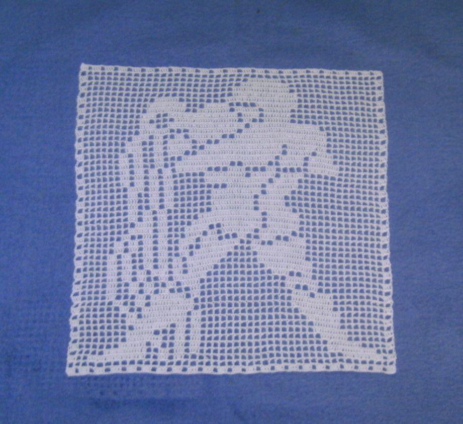 Napperon crochet Verseau Signe Zodiaque fait main : Accessoires de maison par art-crochet-tricot-dentelle