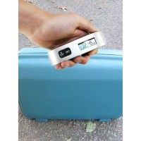 Digital luggage weighing scales. Portable.