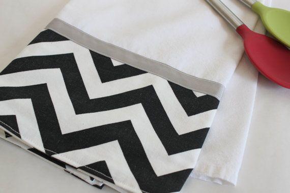 black chevron towel from cozybychristine com yep i did it rh pinterest com