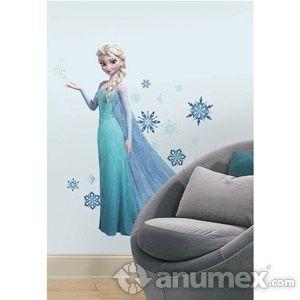 Calcomanía gigante de Elsa de frozen Este es un anuncio de