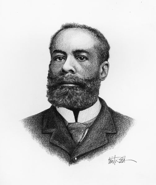 """Elijah McCoy (1843–1929) invented an oil-dripping cup for trains. Other inventors tried to copy McCoy's oil-dripping cup. But none of the other cups worked as well as his, so customers started asking for """"the real McCoy."""" That's where the expression comes from."""