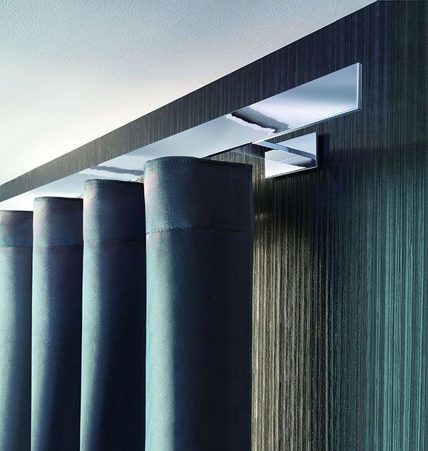 Interstil maakt prachtige moderne ophangsystemen voor gordijnen ...