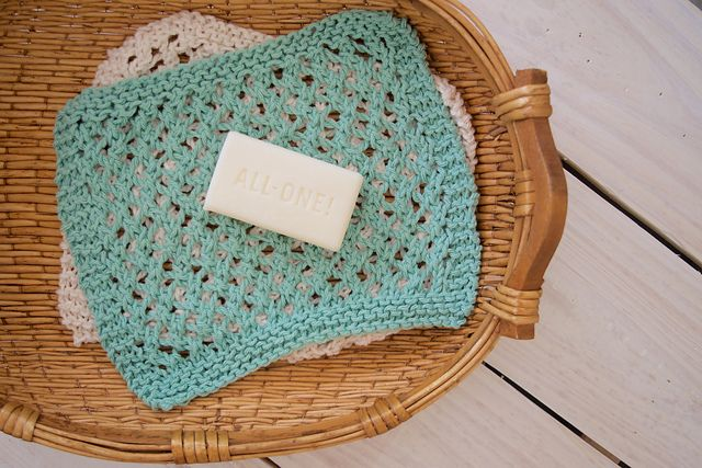 Ravelry Lacy Knit Washcloth Pattern By Rachel Thompson Projects