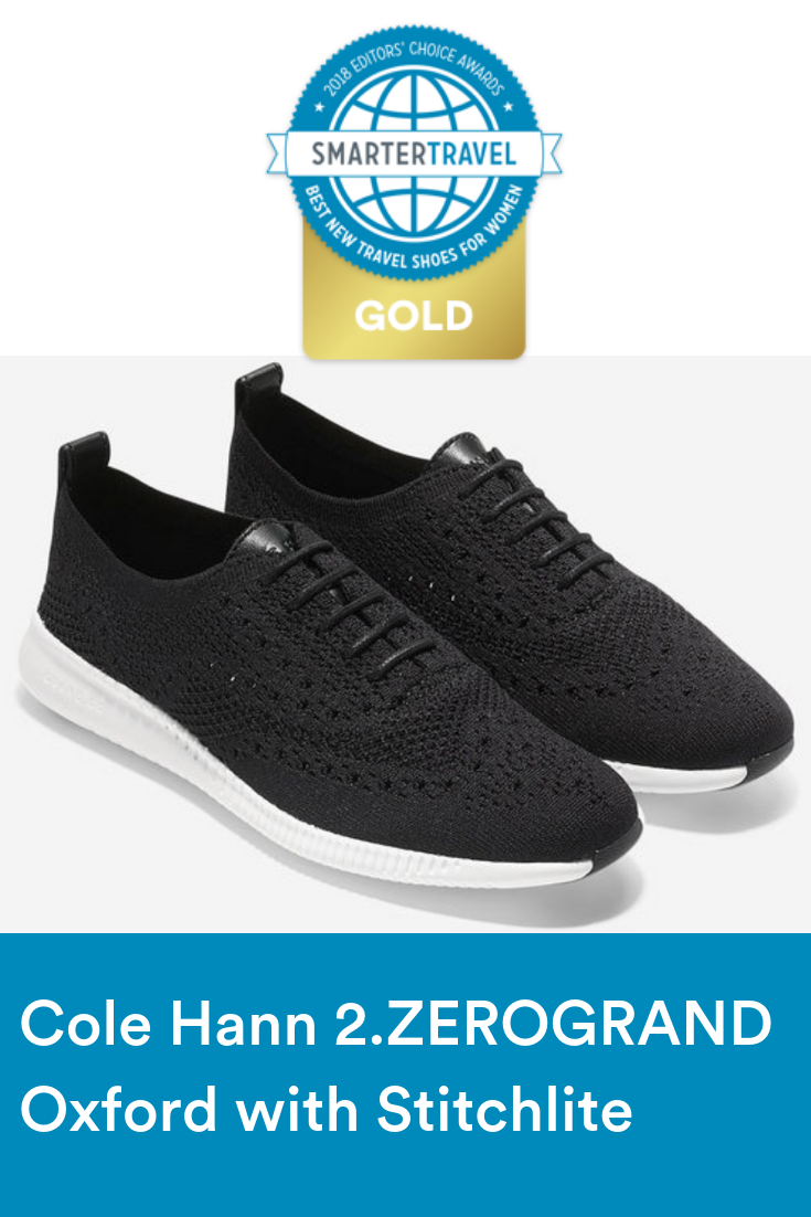 c0af74a37aa8 Cole Haan s 2.ZEROGRAND Oxford with Stitchlite won our Best New Women s  Shoes award