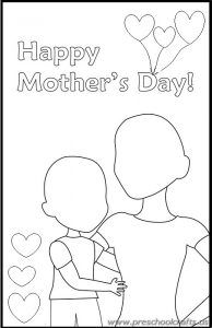 Free Printable Mother's Day Worksheets for Kids