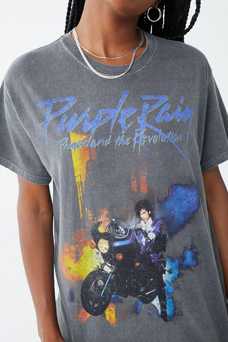 PURPLE RAIN PRINCE AND THE REVOLUTION TIE DYE T-SHIRT MENS MUSIC TEE PLUS SIZE