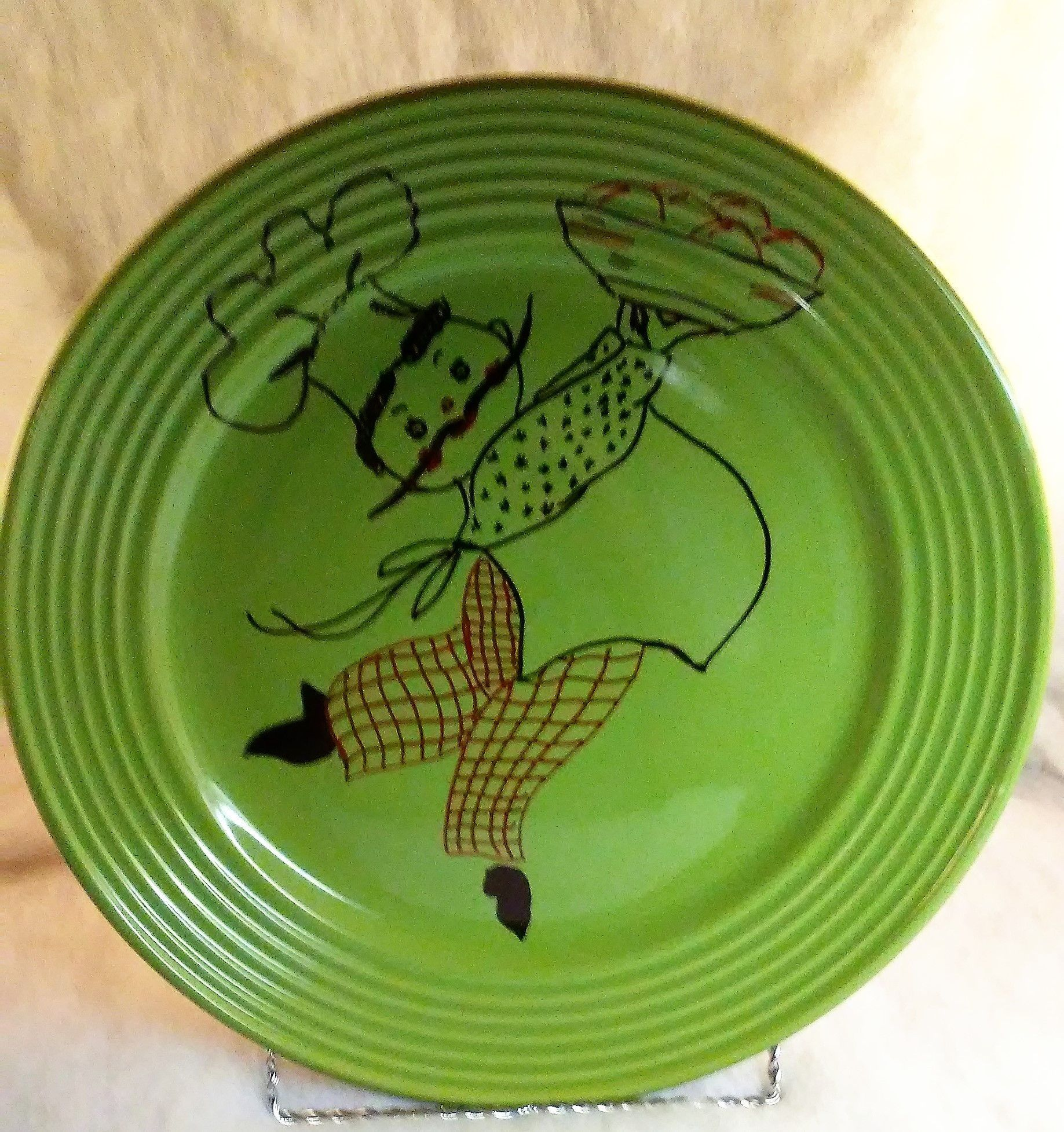 Jolly Chef Decorative Plate With