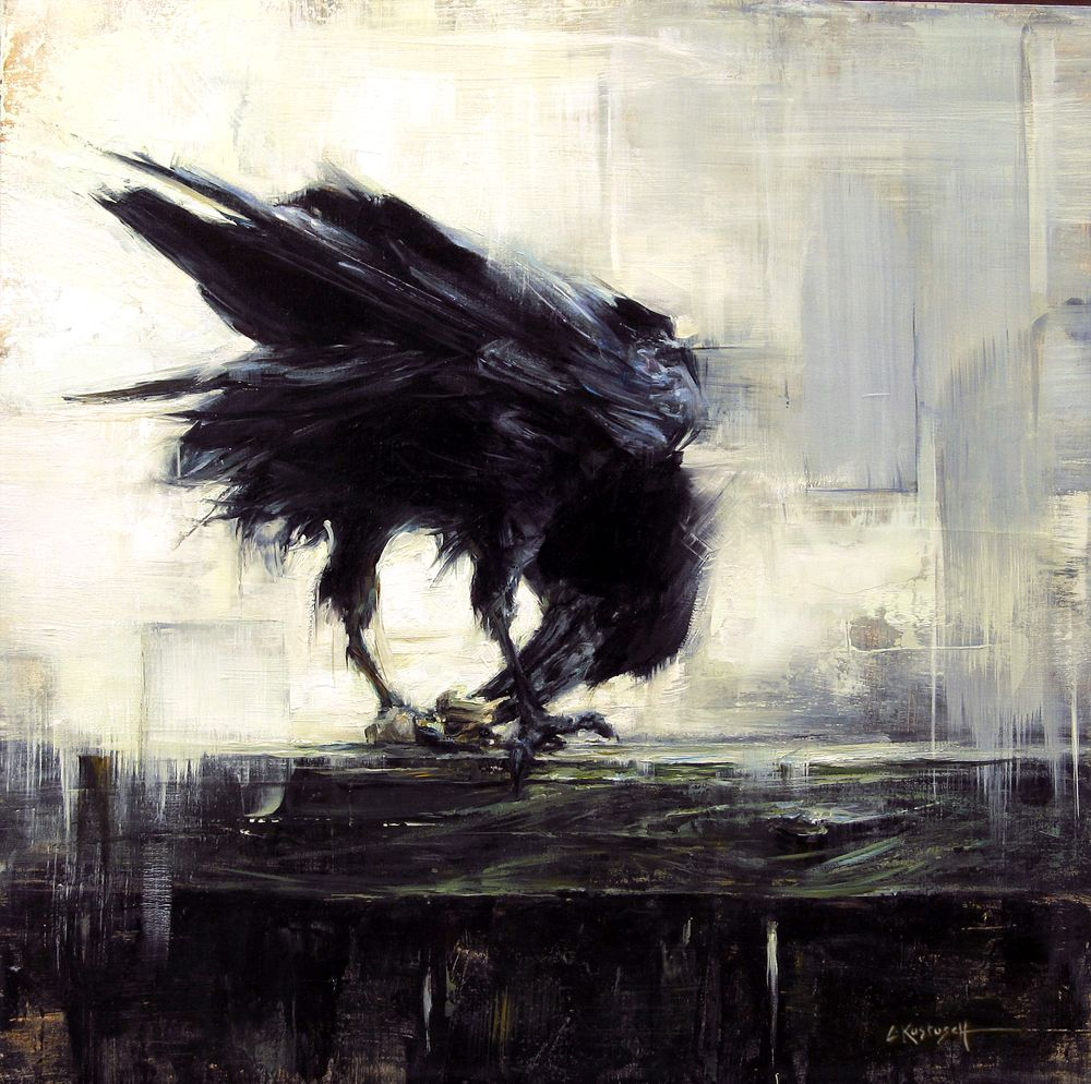 raven oil paintings - Google Search | Artists that inspire ...
