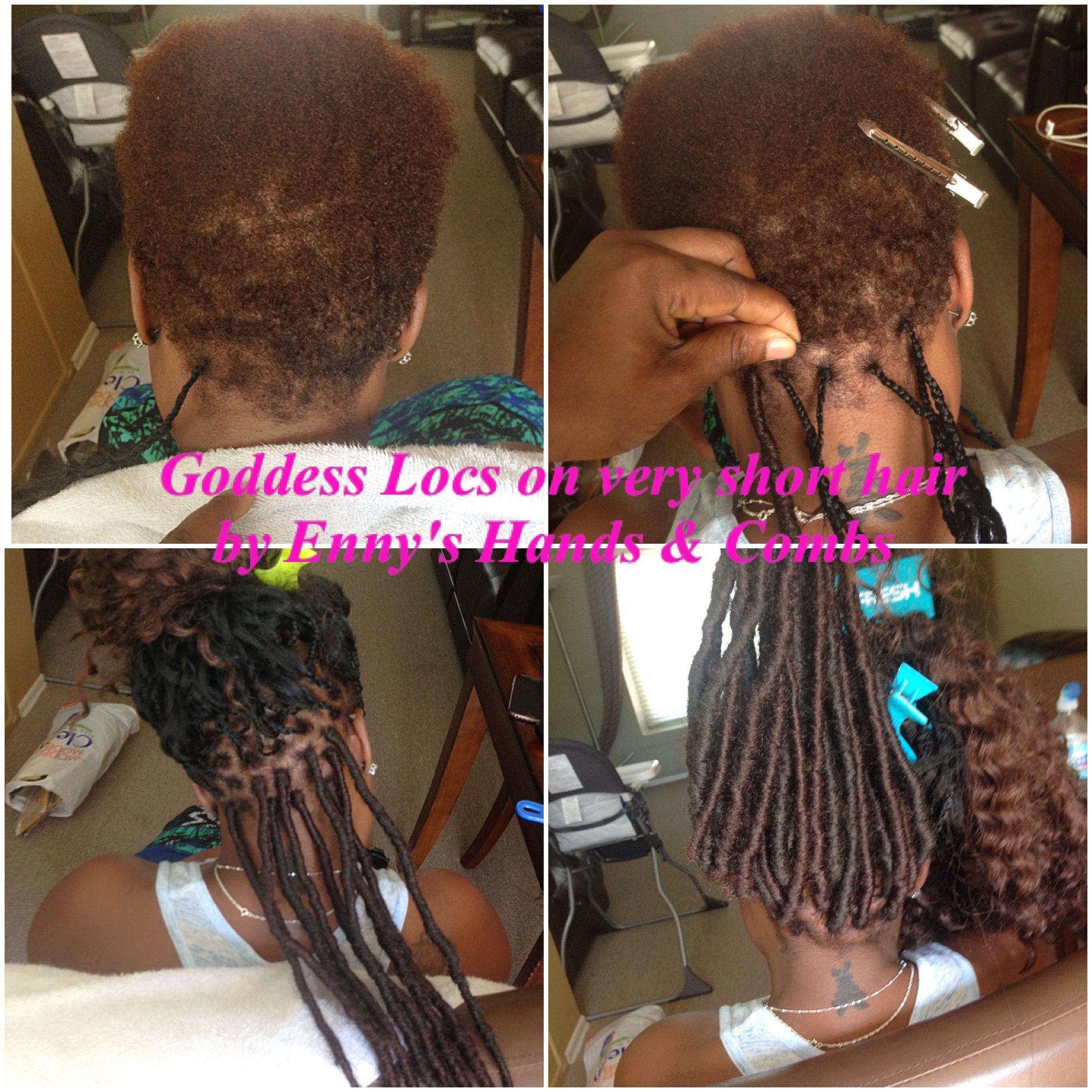 Goddess Locs On Short Natural Hair Natural Hair Styles Afro Hairstyles Hair Styles