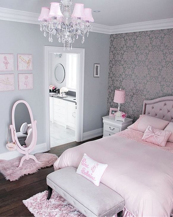 46 Cute Pink Bedroom Design Ideas