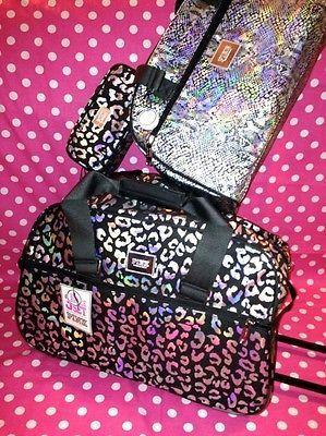 New Victoria Secret Pink 3 Piece Set Wheelie Luggage Suitcase Travel Duffle Bag | eBay