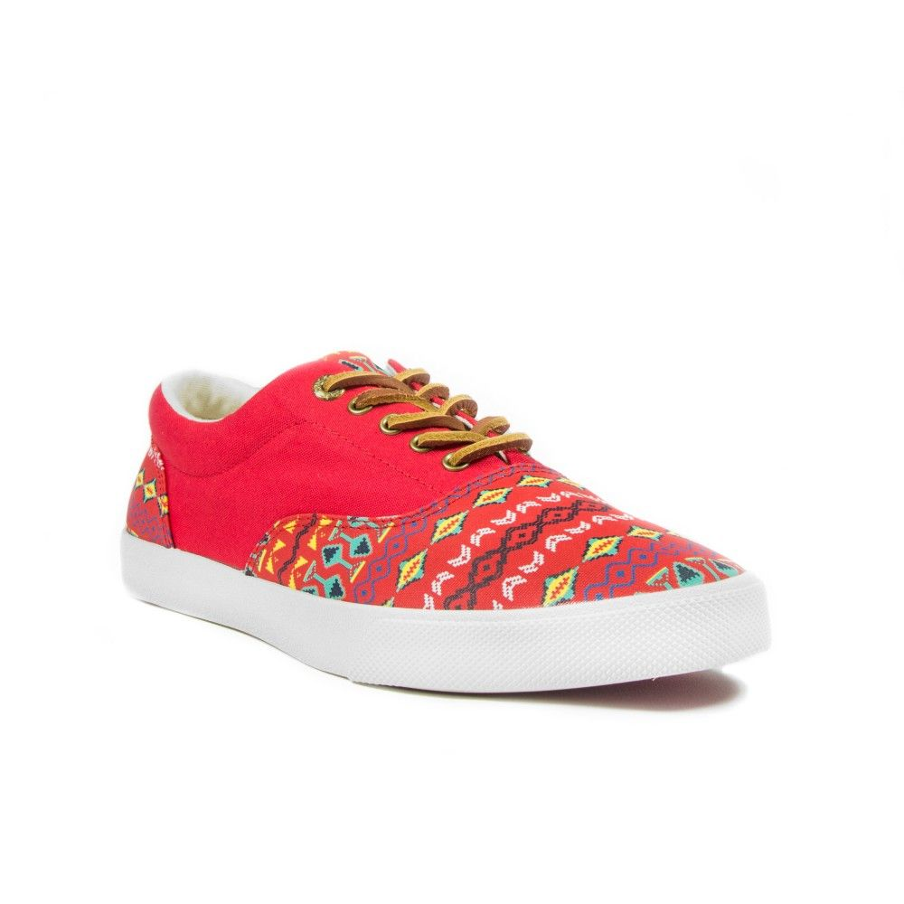 Vermillion Men's Lace Up Sneaker | BucketFeet
