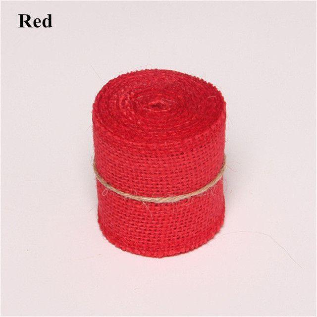 Natural Burlap Ribbon