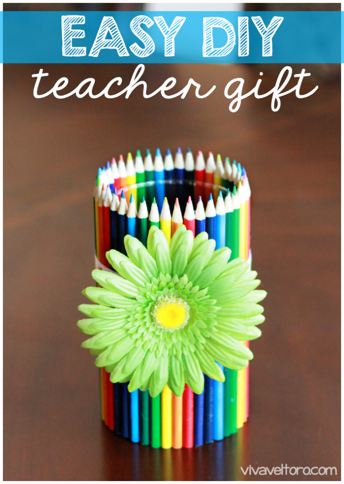 Easy Diy Gifts Diy Gifts And Easy Diy On Pinterest: Easy DIY Teacher Gift Idea!