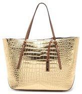 # Mk Gold crocodile handbag