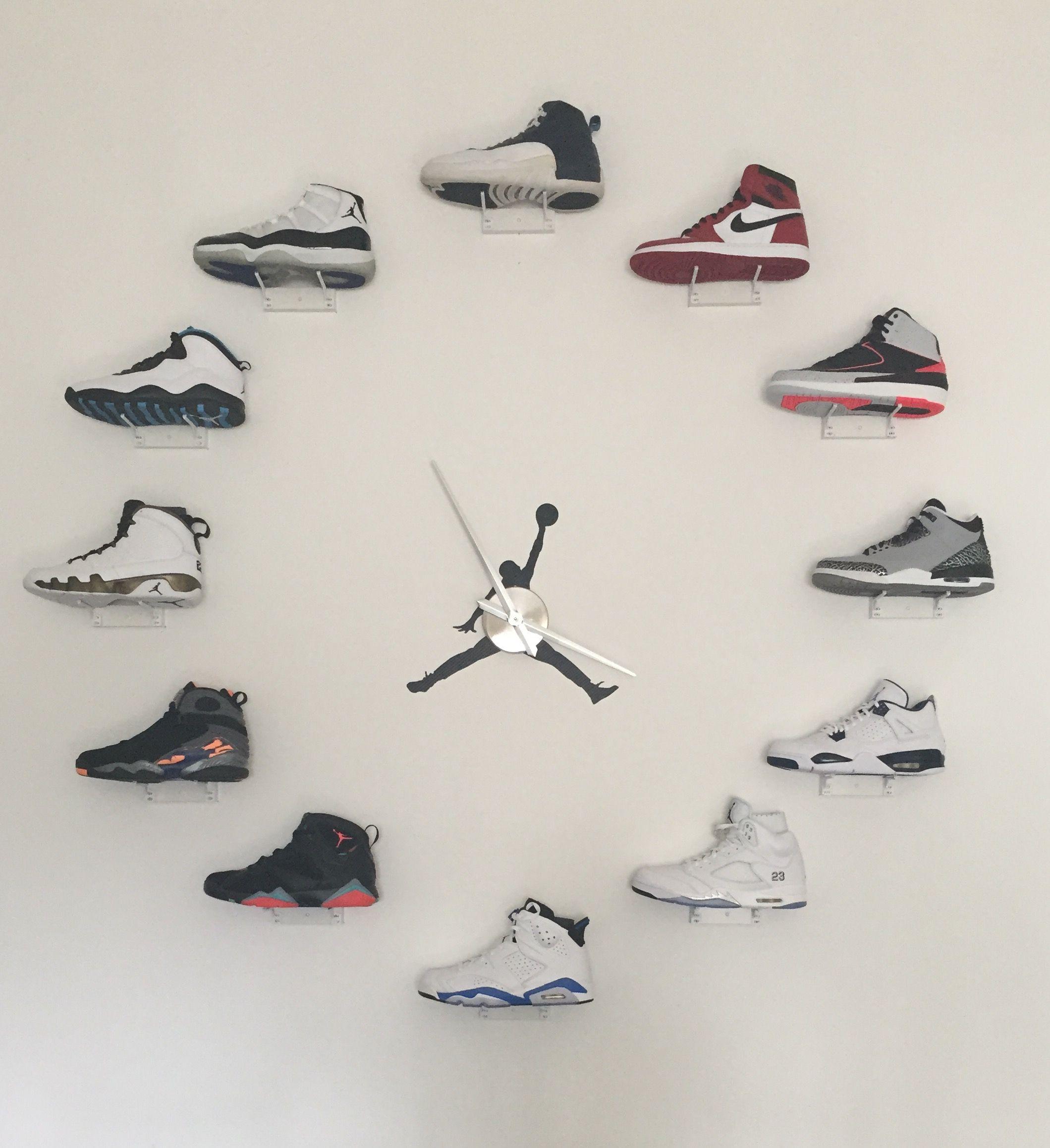 911717510ba2 My jordan clock project finally complete