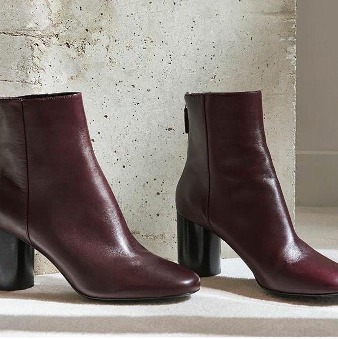 ea7b064e80dd4 Sandro Paris Sacha boots in burgundy | a l l a b o u t s h o e s ...