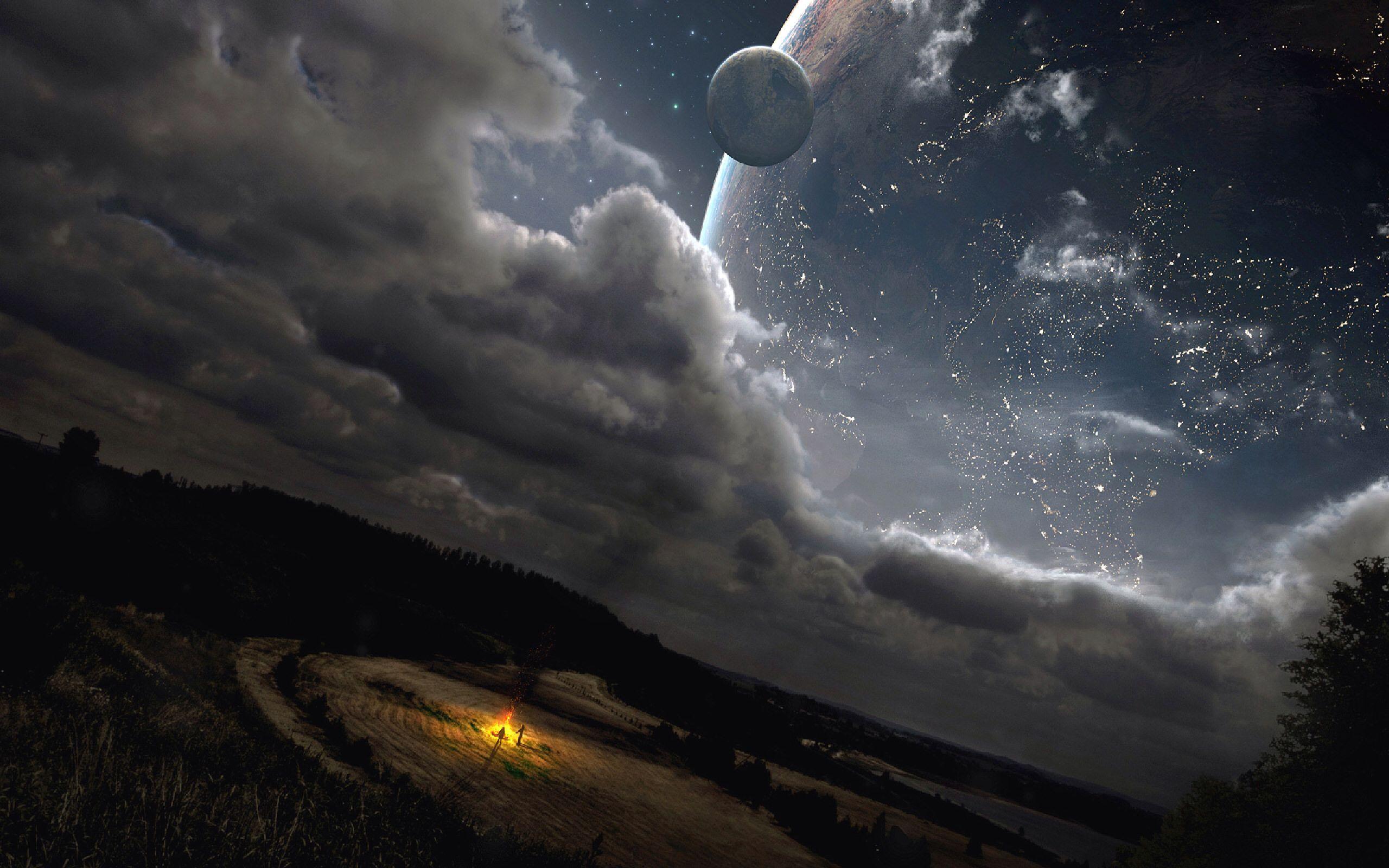 Landscape [2560x1600] Sci fi wallpaper, Alien