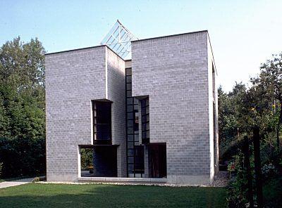 maison pregassona tessin architecte mario botta 1979. Black Bedroom Furniture Sets. Home Design Ideas