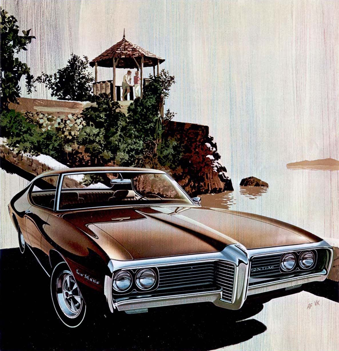 1969 Pontiac LeMans Hardtop Coupe – 'Hydra Gazeba': Art Fitzpatrick and Van Kauf…