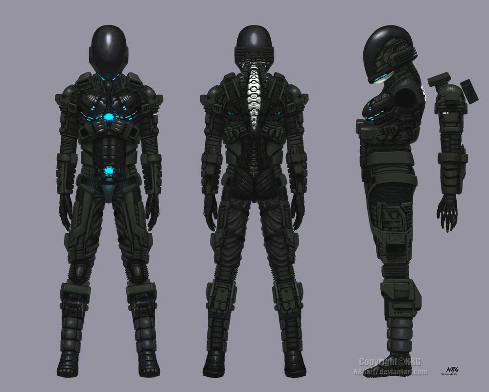 Leto's Mech Suit | RPG Pen & Paper | Pinterest