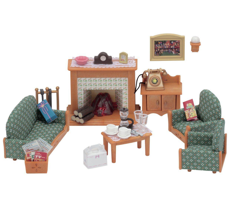 Buy Sylvanian Families Deluxe Living Room Set | Animal ...