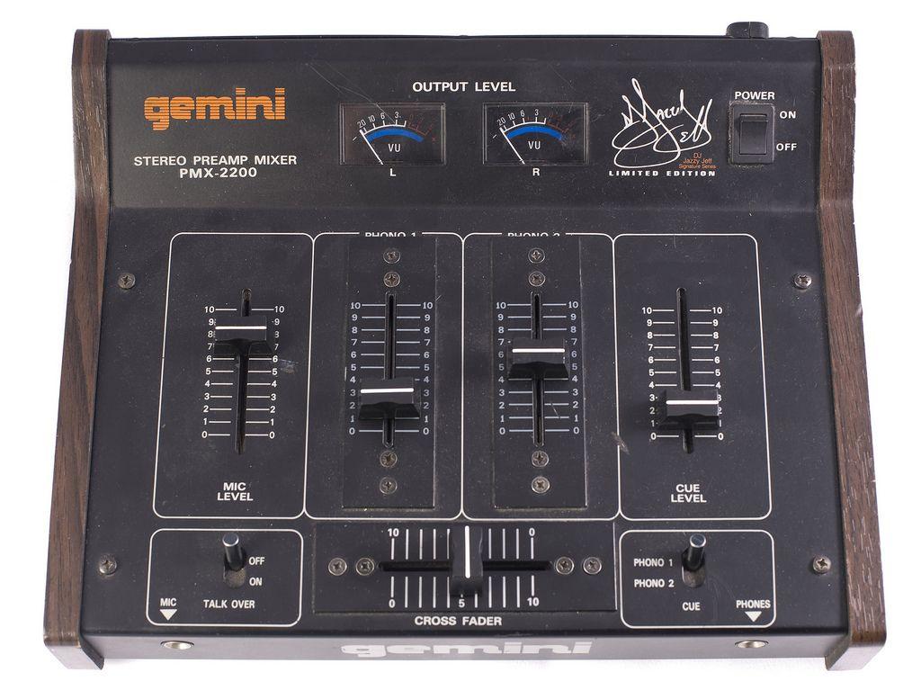 Gemini Pmx 2200 Jazzy Jeff Limited Edition Mixer Dj