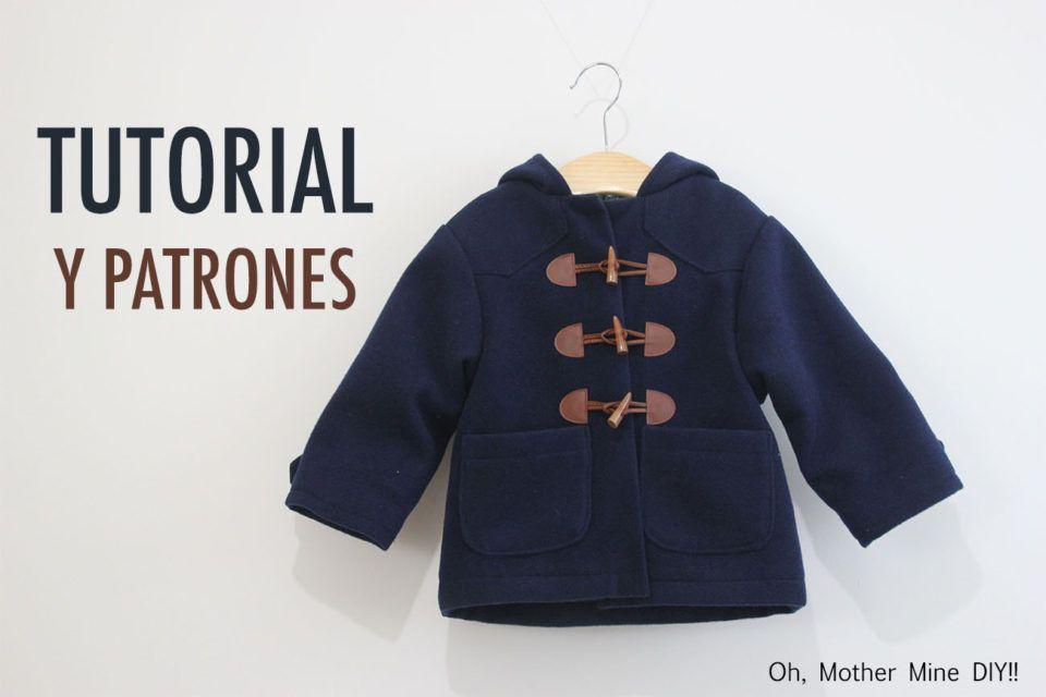DIY Tutoriales y patrones: Abrigo tipo trenca para niño | Oh, Mother Mine DIY!!