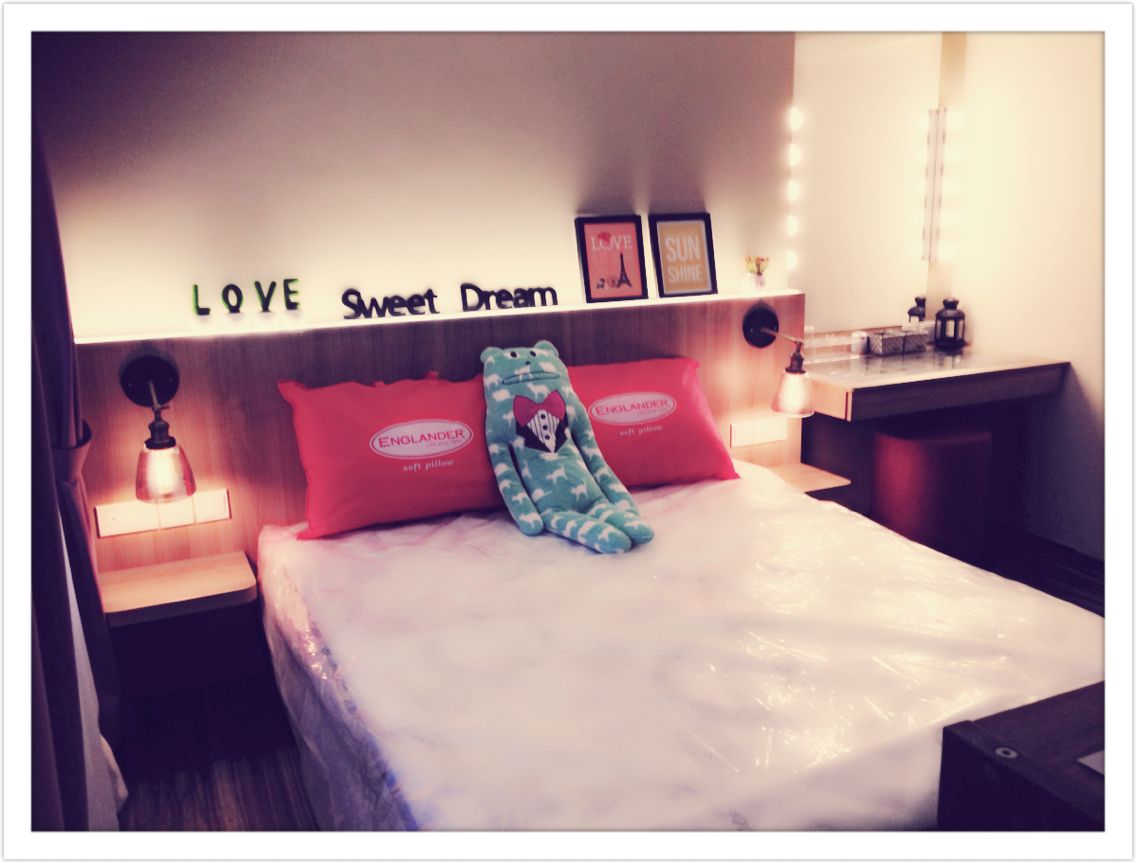 englander bed in hotel harmony gel mattress my joyfully scandi