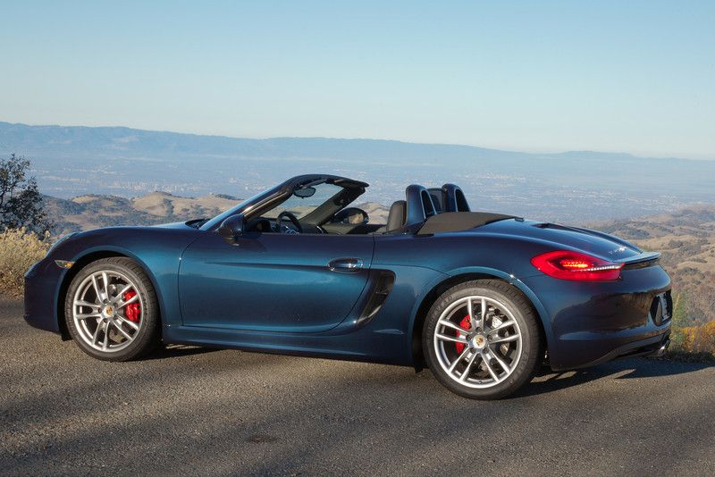Porsche Boxster 981 Dark Blue Metallic Pretty Things Pinterest