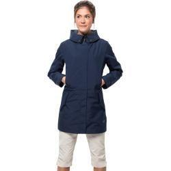 Jack Wolfskin Hardshell Mantel Frauen Monterey Coat Women L Blau Jack Wolfskinjack Wolfskin Sou In 2020 Coats For Women Blazer Jackets For Women Women S Windbreaker