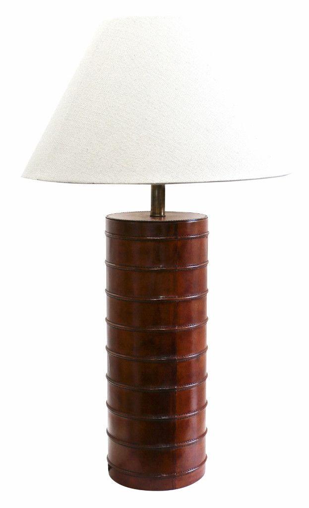 Savoy Leather Lamp Base Urban Lighting Lamp Lamp Bases Urban