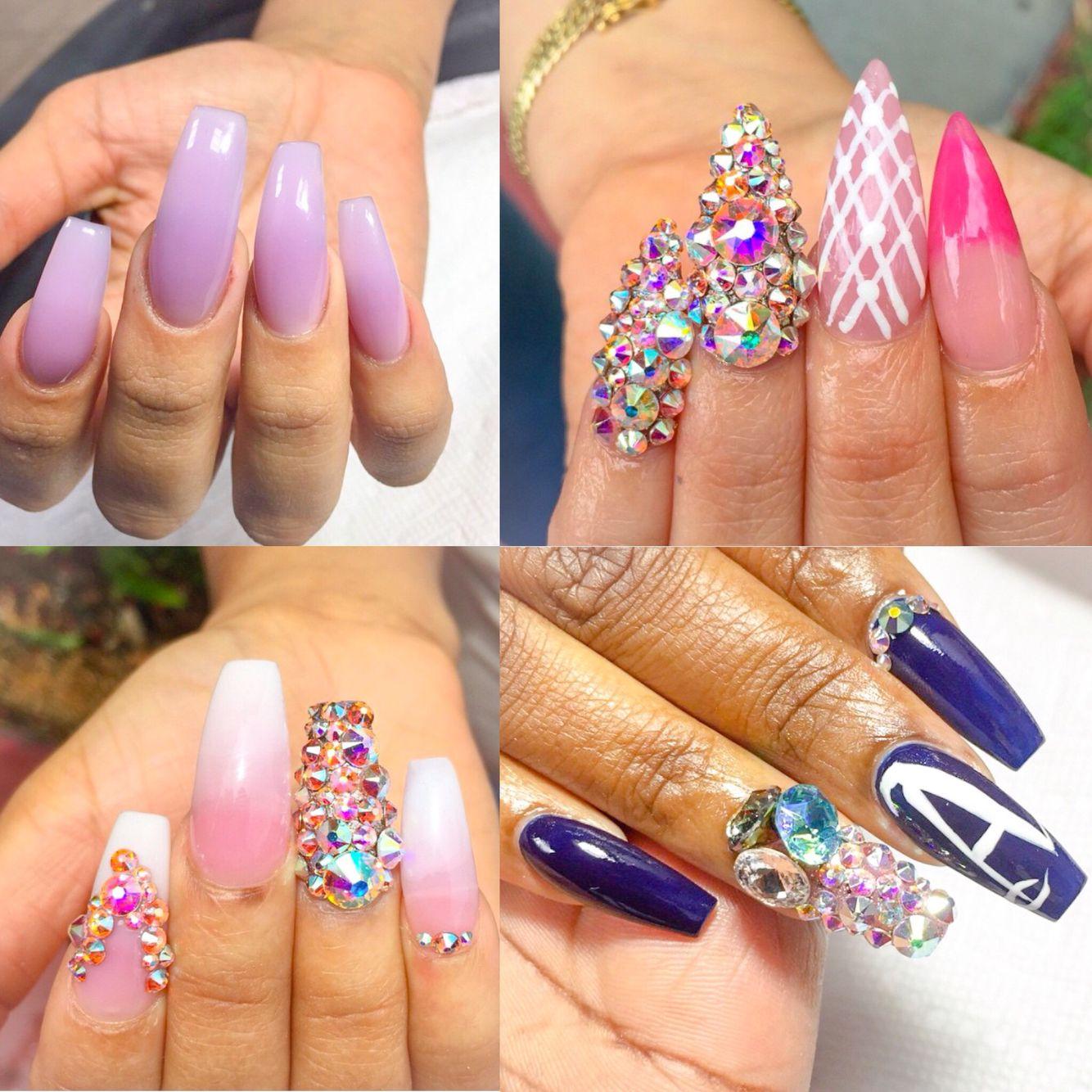 ✨ By: @lady_bubblez18 ---------------------------------------------------------- #nails #nail #notd #style #hudabeauty #cute #beauty #beautiful #instagood #pretty #girl #girls #stylish #sparkles #styles #gliter #nailart #opi  #essie #unhas #preto #branco #rosa #love #shiny #polish #nailpolish #nailswag #anastasiabeverlyhills #vegas_nay