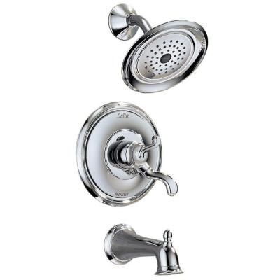 Delta Vessona 1Handle Tub and Shower Faucet in Chrome