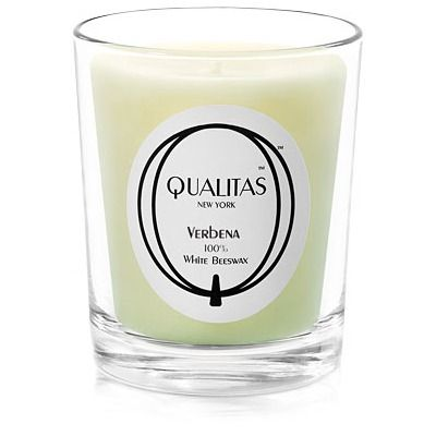 Qualitas Candles Beeswax Verbena Scented Candle $33.99
