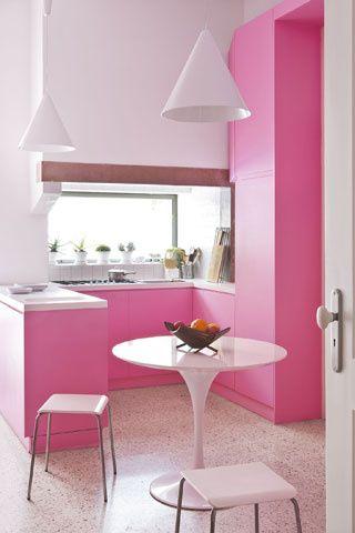1000 images about Pink Kitchens on PinterestRage Modern