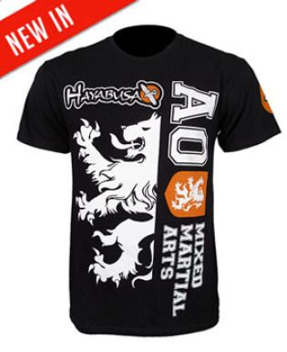 Hayabusa Alistair Overeem Ufc 141 Walkout T Shirt Black Mma Clothing Hayabusa Mma T Shirt