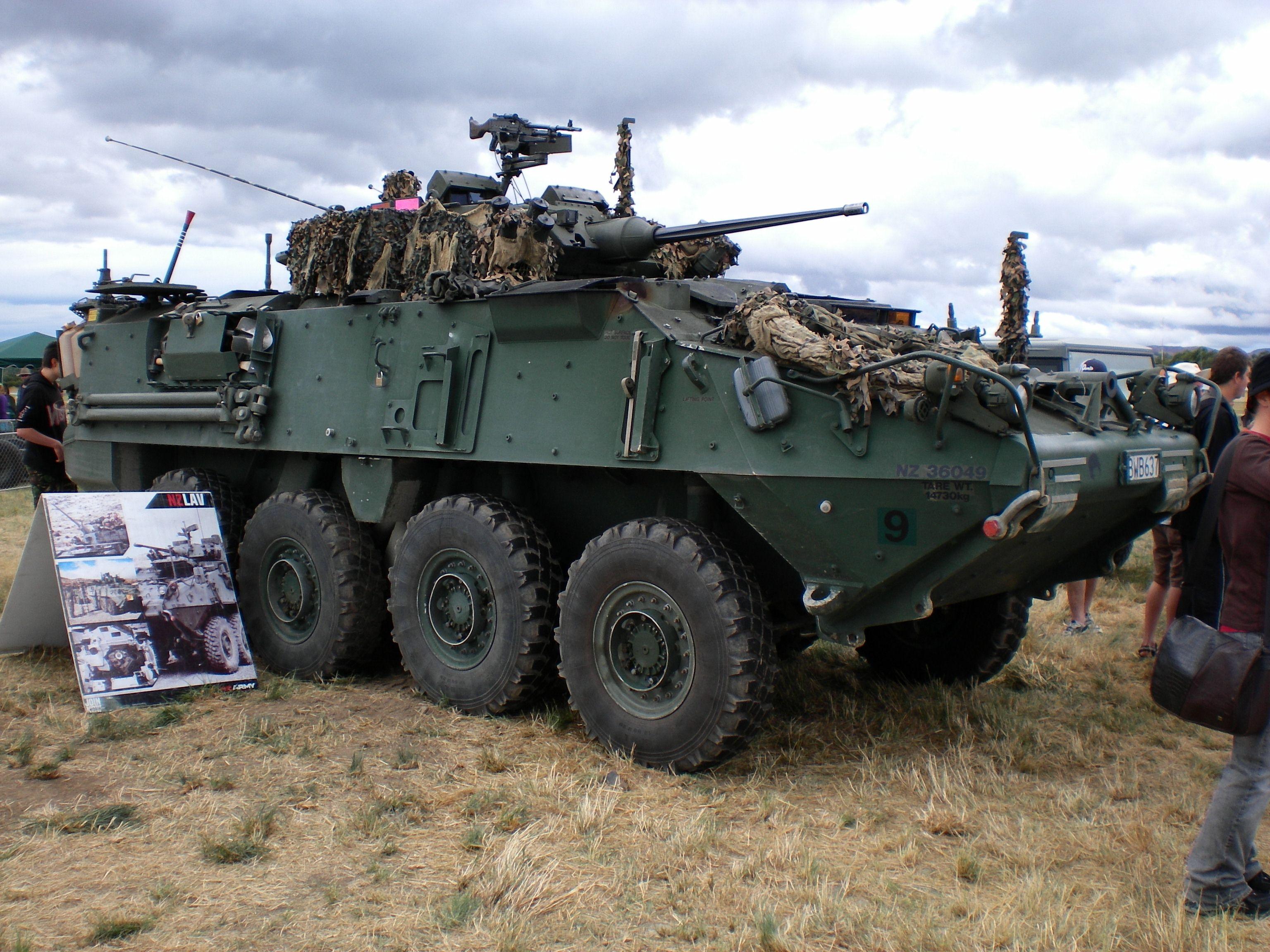 NZ LAV World tanks, 4th infantry division, Tanks modern