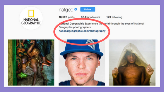 7 Clever Ways To Use Links In Your Instagram Bio Sked Social Instagram Bio Instagram Bio