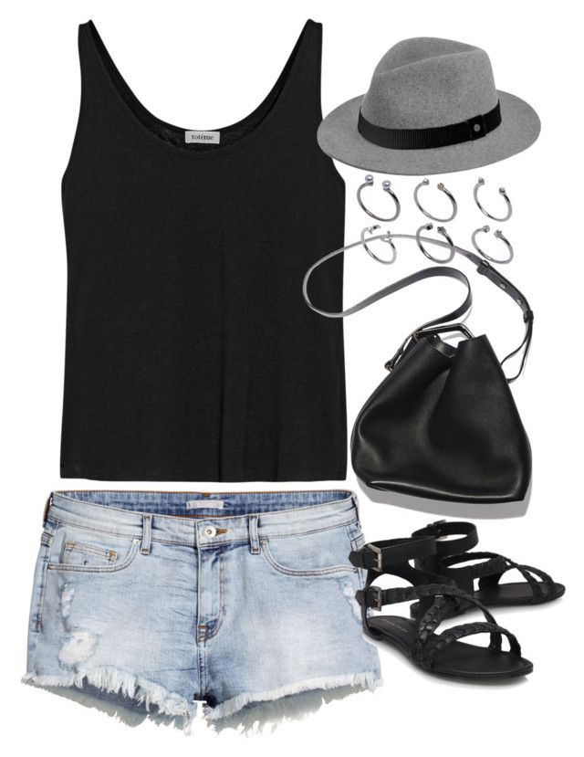 """""""Sin título #5076"""" by marym96 ❤ liked on Polyvore featuring H&M, Totême, 3.1 Phillip Lim, ASOS and rag & bone"""
