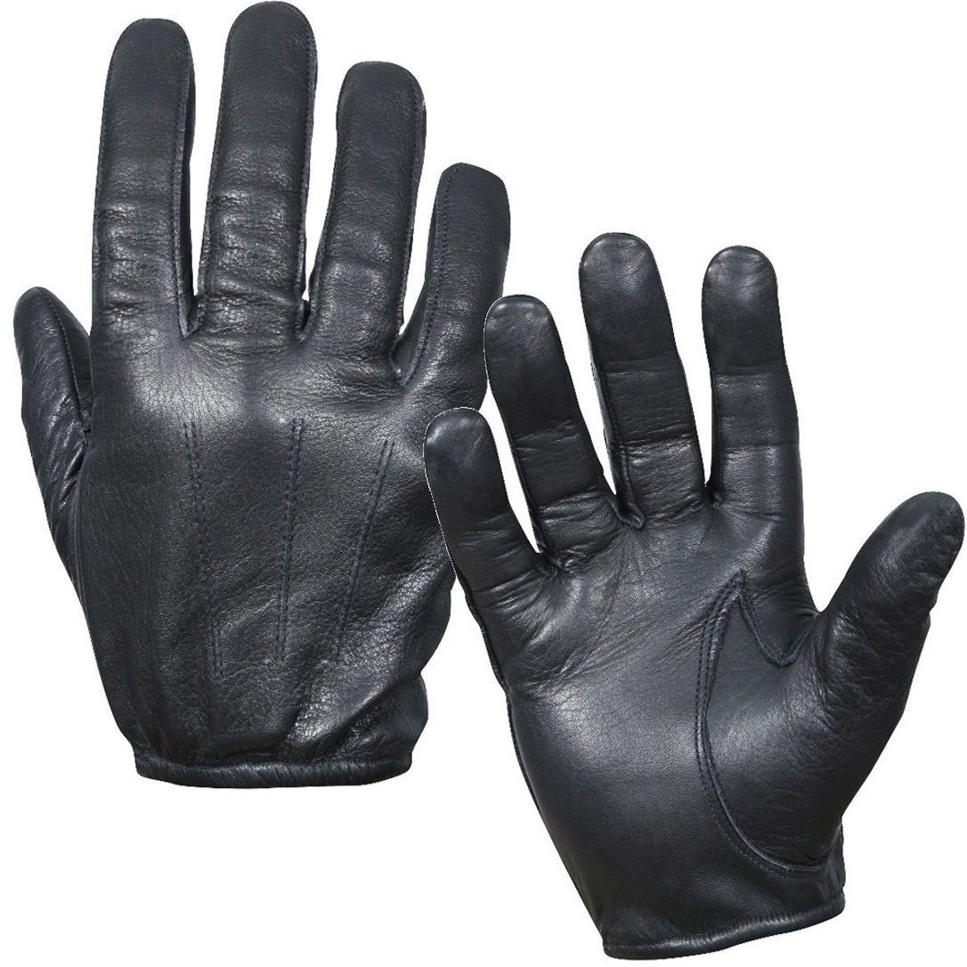 Black tactical gloves - Cut Resistant Lined Black Tactical Police Swat Military Combat Assault Gloves
