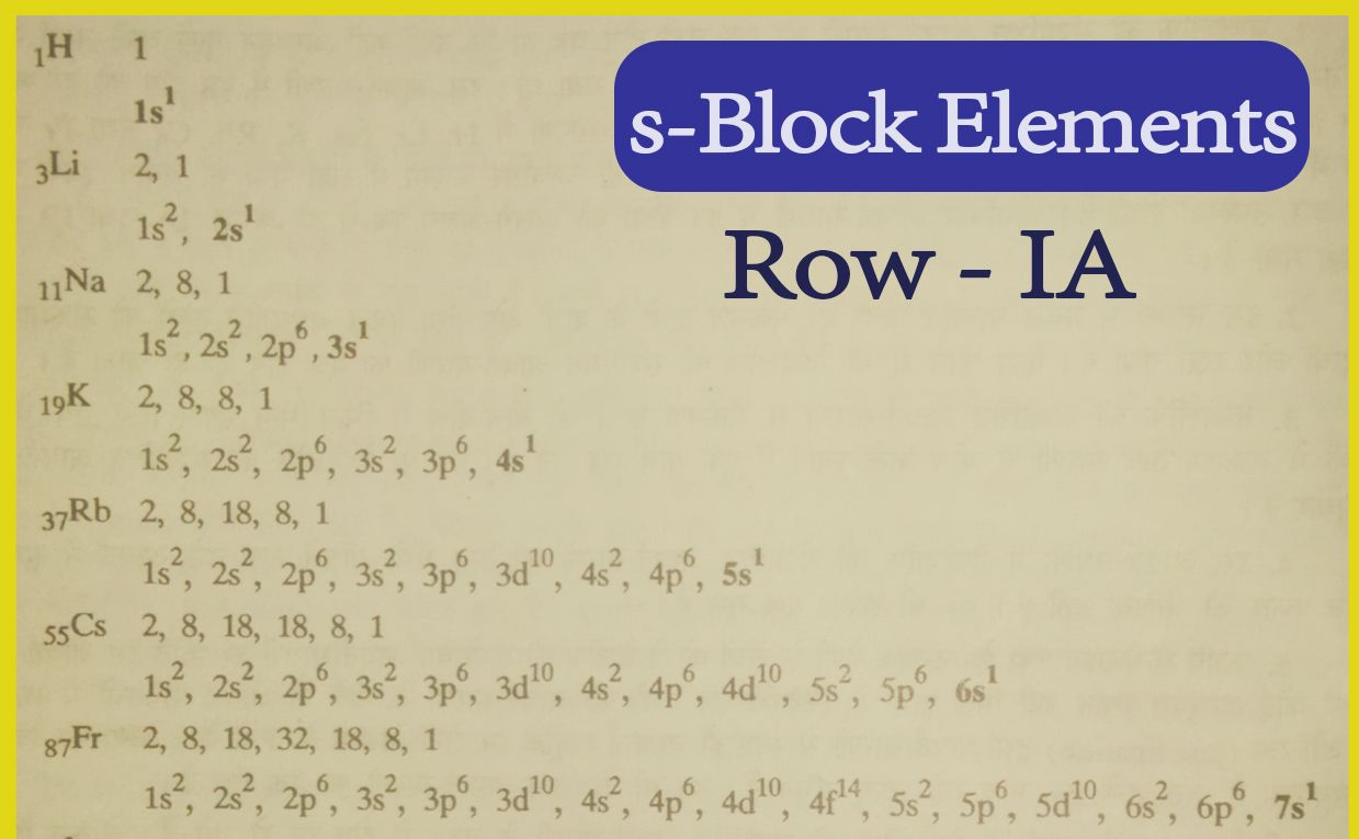 S Block Elements Group Ia In 2020 Chemistry Notes Chemistry Chemistry Definition