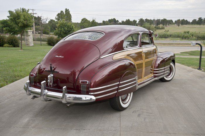 1948 Chevrolet Fleetline Woodie Aerosedan Cool Old Cars