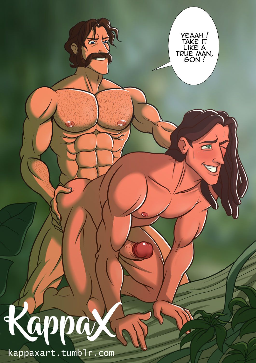 Have back. tarzan cartoon porn teeth. thats