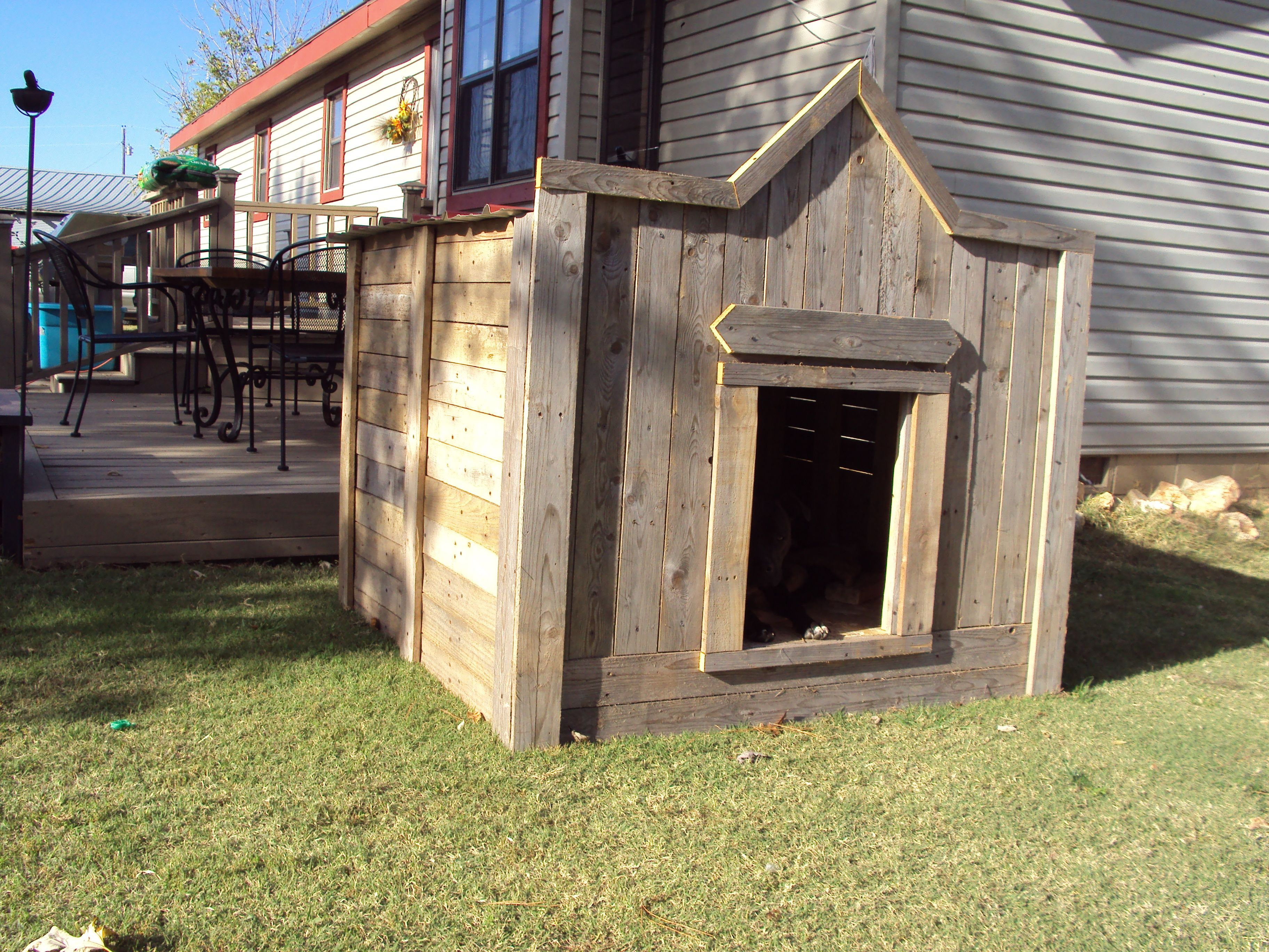This Is A Quot Big Dog Quot House Build Completely From Re