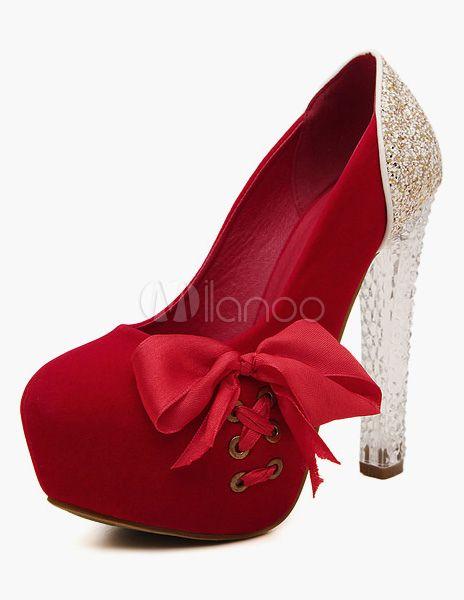 Chaussures OASAP rouges femme