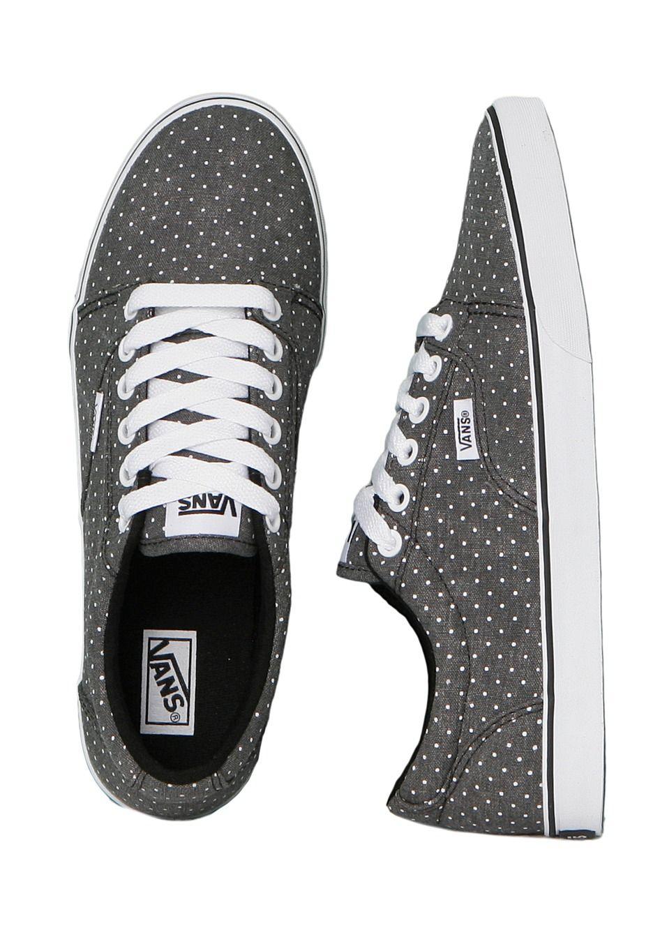 Vans - Kress Washed Dots Black/White