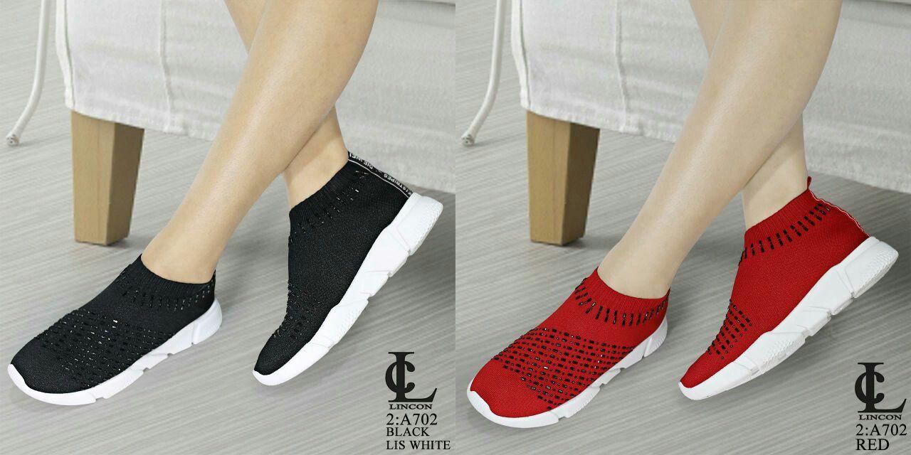 Sepatu Merek Lincon Seri A702 Kualitas Original Brand Bahan