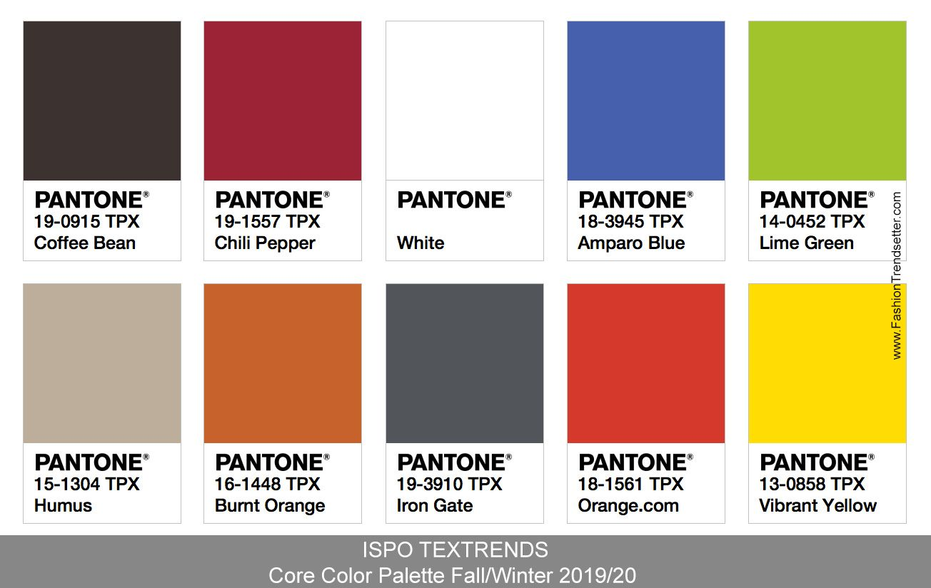 Ispo Textrends Color Trends Fall Winter 2019 20 Fall Color Trend Fall Fashion Coats Color Trends Fashion,Movable Wall Partitions Philippines